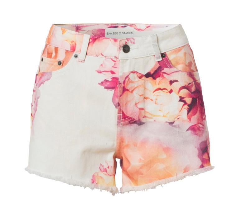 samsoesamsoe.14.01.Angara.Shorts.AOP.Flower Print.600DKK