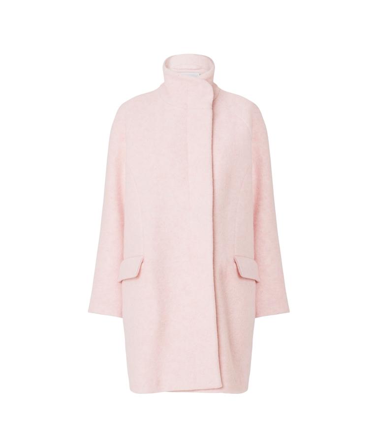 lyserød jakke