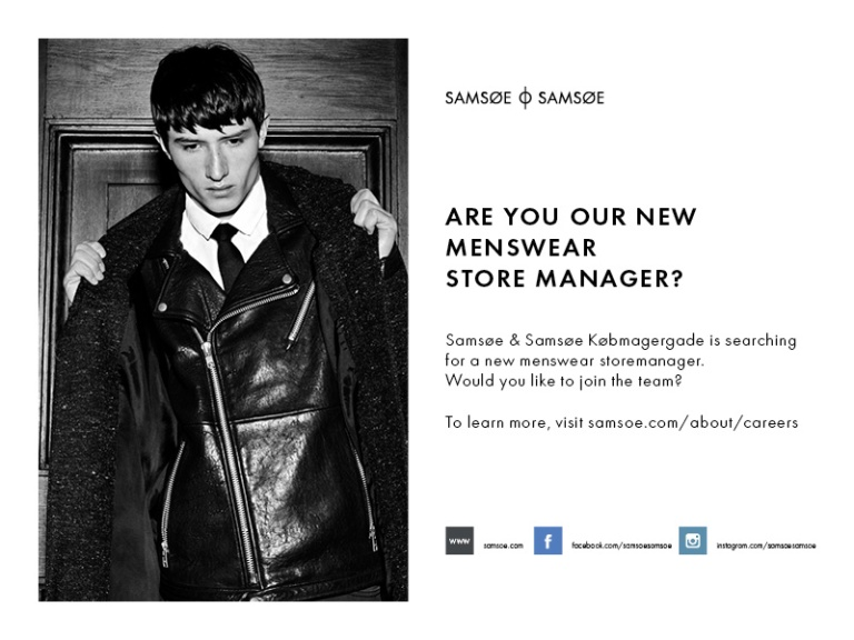 MENSWEAR STOREMANAGER